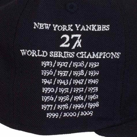 New Era 59Fifty Fitted Cap 27 Strike Offs NY Yankees dunkelblau