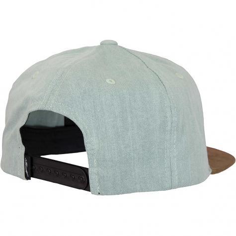Reell Snapback Cap Suede grau blu sl