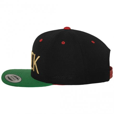 Mister Tee Cap Fuck black/green/red