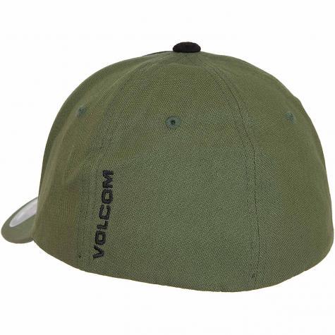 Volcom Flexfit Cap Full Stone heather army