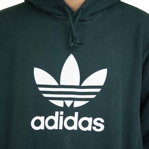 Adidas Originals Hoody Trefoil dunkelgrün