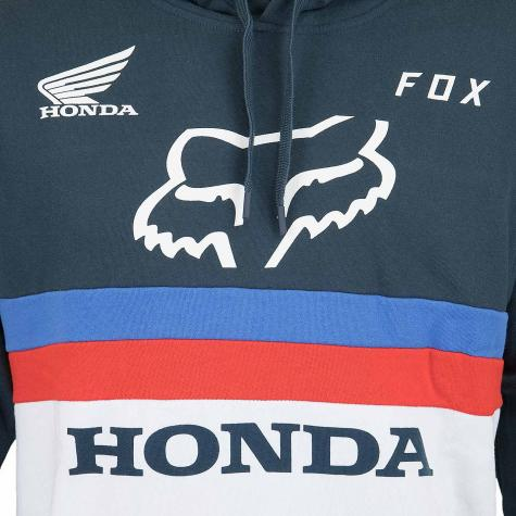 Fox Hoody Honda dunkelblau/weiß