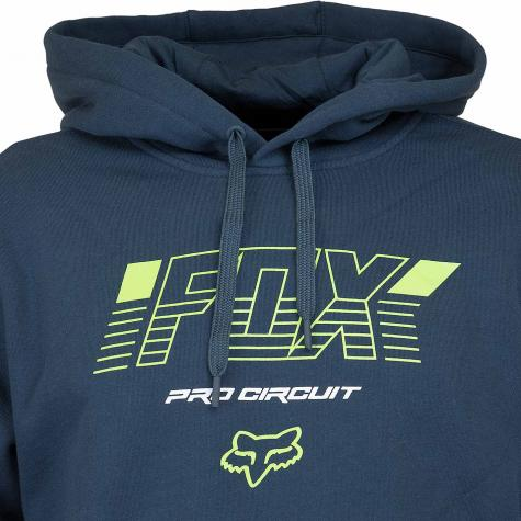 Fox Head Hoody Pro Circuit dunkelblau/schwarz