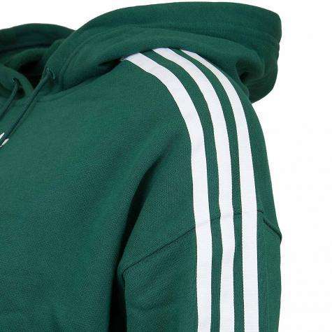 Adidas Originals Damen Hoody Cropped grün