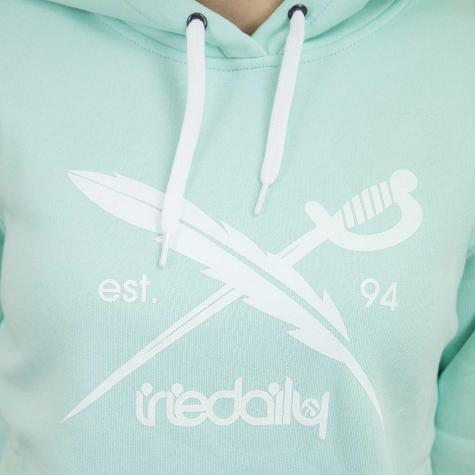 Iriedaily Damen Hoody Big Flag mint