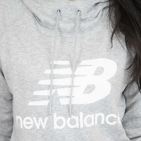 New Balance Damen Hoody Essentials grau