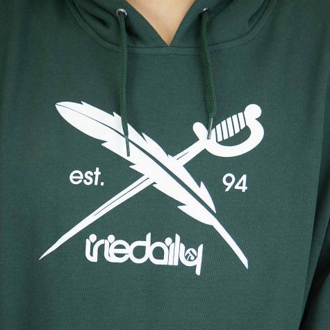 Iriedaily Hoody Daily Flag hunter