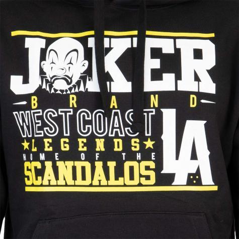 Joker Scandalos Hoody Herren schwarz