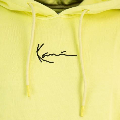 Karl Kani Small Signature Washed Hoody gelb