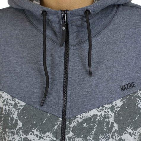 Mazine Zip-Hoody Logan grau