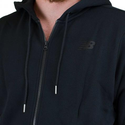 New Balance Zip-Hoody Essentials schwarz