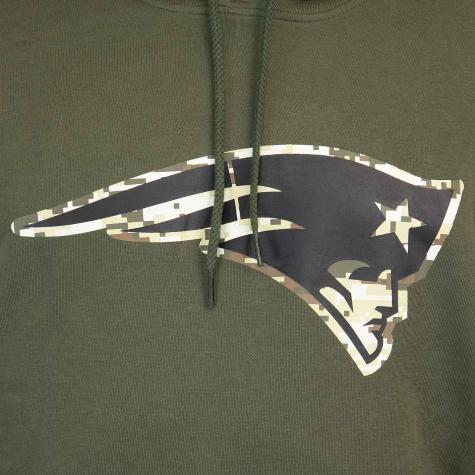 Hoody New Era NFL Digi Camo New England Patriots oliv