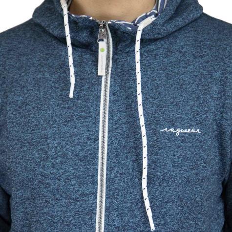Ragwear Zip-Hoody Marty Organic dunkelblau
