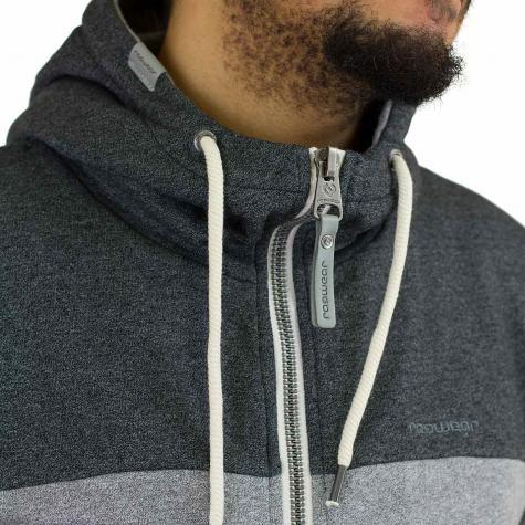 Ragwear Zip-Hoody Tommie grau