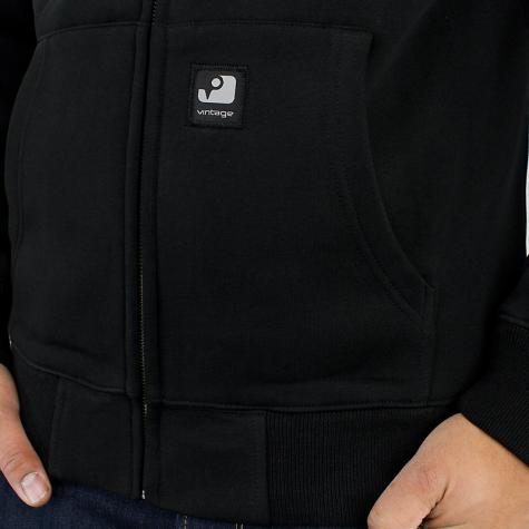 Vintage Industries Redstone Zip-Hoody black