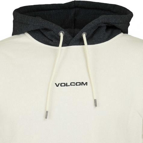 Volcom Hoody Single Stone Div weiß/rot/schwarz