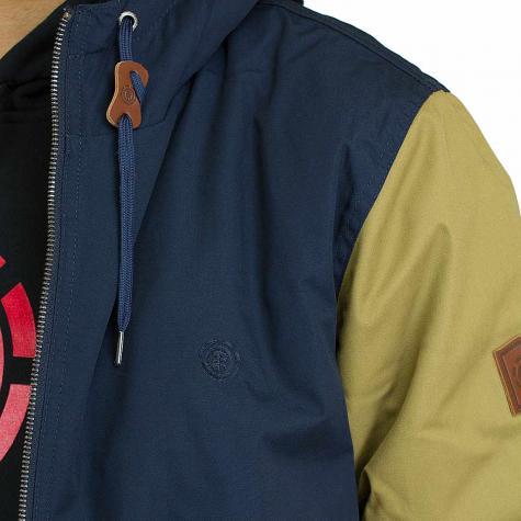 Element Jacke Dulcey khaki/dunkelblau