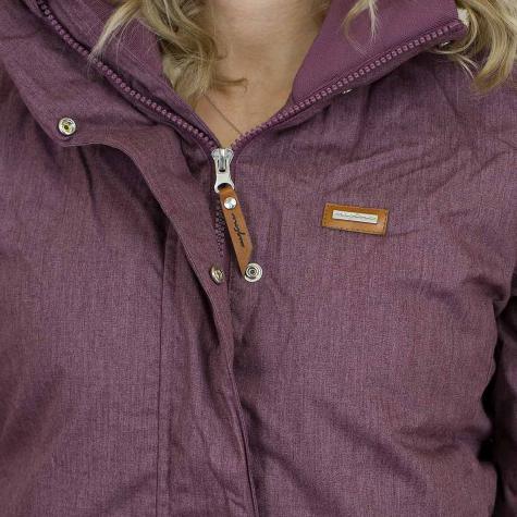 Mazine Damen Winterjacke Kimberley violett