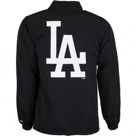 New Era Jacke Team Apparel MLB Coaches L.A.Dodgers schwarz