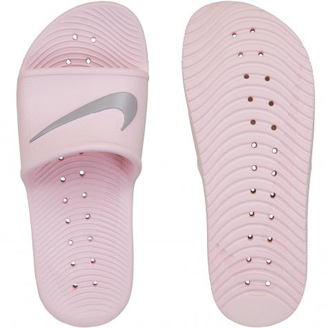 Nike Damen Badelatschen Kawa Shower pink/grau