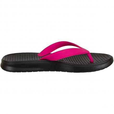 Nike Damen Flip-Flops Solay Thong schwarz/pink