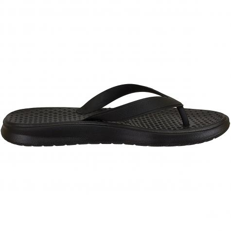 Nike Flip Flops Solay Thong schwarz/weiß