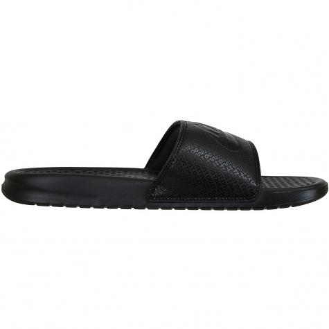 Nike Sandalen Benassi Just Do It schwarz/schwarz