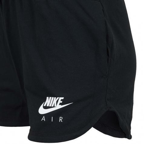 Nike Damen Shorts Air schwarz/weiß