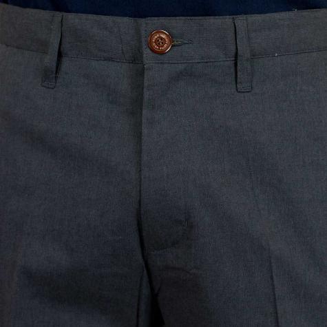 Iriedaily Golfer Chambray Shorts anthracite melange