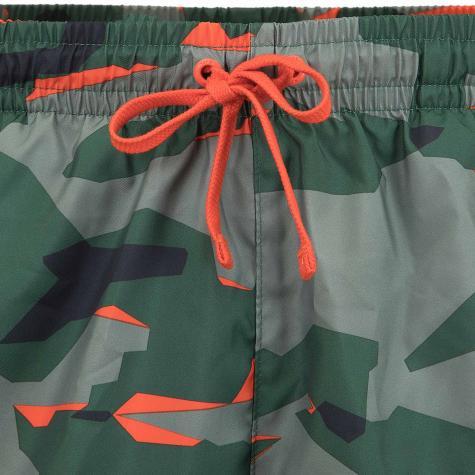 Nike Shorts CE Camo Woven grün/orange