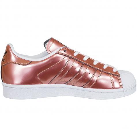 Adidas Originals Damen Sneaker Superstar copper