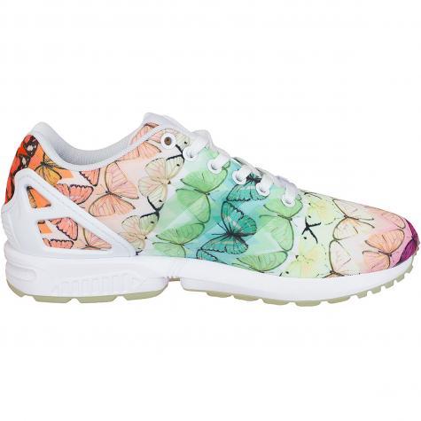 Adidas Originals Damen Sneaker ZX Flux butterfly mehrfarbig