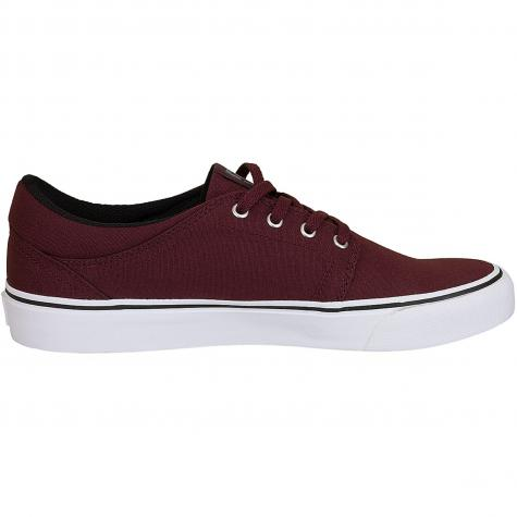 DC Shoes Sneaker Trase TX weinrot