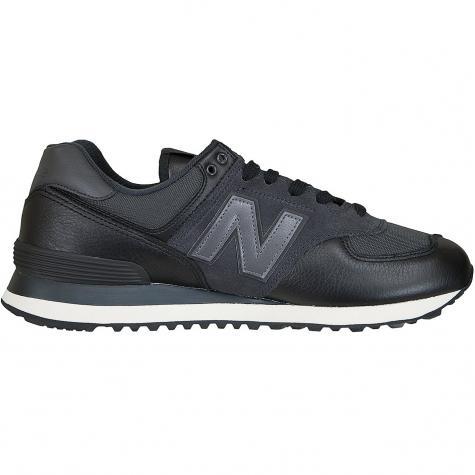 New Balance Sneaker 574 Leder/Mesh/PU schwarz