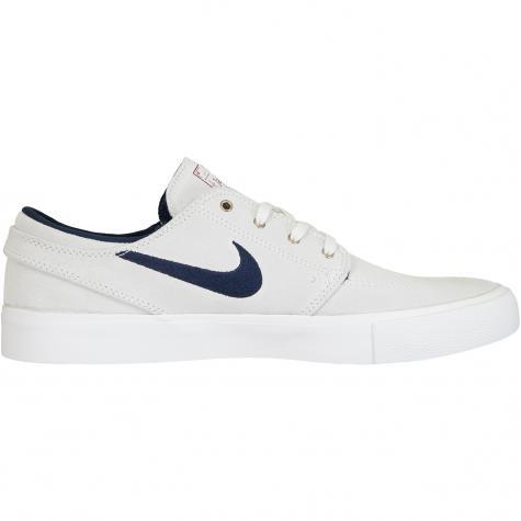 Nike SB Sneaker Air Zoom Stefan Janoski weiß/dunkelblau