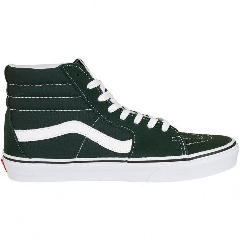 Vans Sneaker Sk8-Hi dunkelgrün/weiß