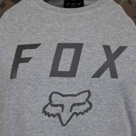 Fox Sweatshirt Legacy grau