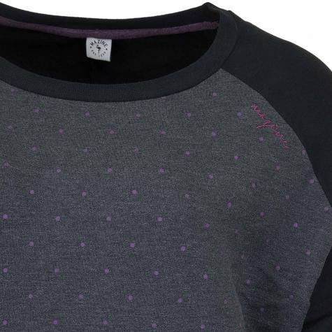 Mazine Damen Sweatshirt Tacoma Batwing schwarz