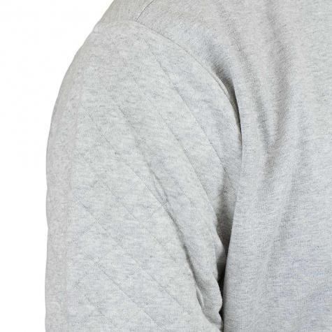 Iriedaily Sweatshirt Cubistic Sidezip grau