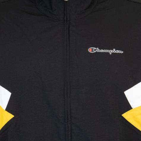Jacke Champion Retro Small Logo schwarz