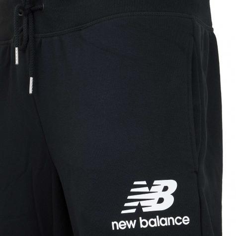 New Balance Sweatpant Essentials Stack schwarz