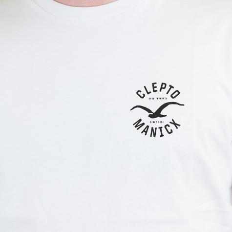 Cleptomanicx T-Shirt Game weiß