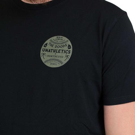 Dudes T-Shirt Stroll schwarz