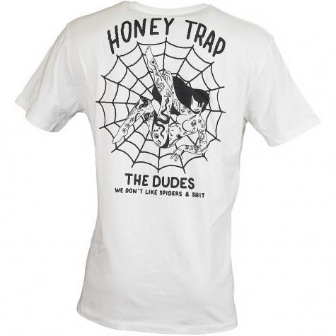 The Dudes T-Shirt Web weiß