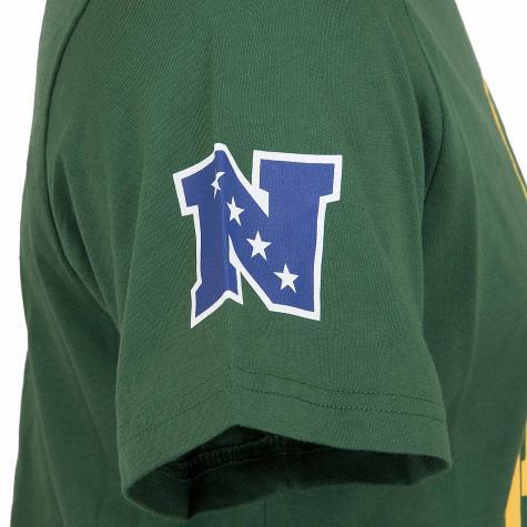 New Era T-Shirt NFL Fan Logo Green Packers grün