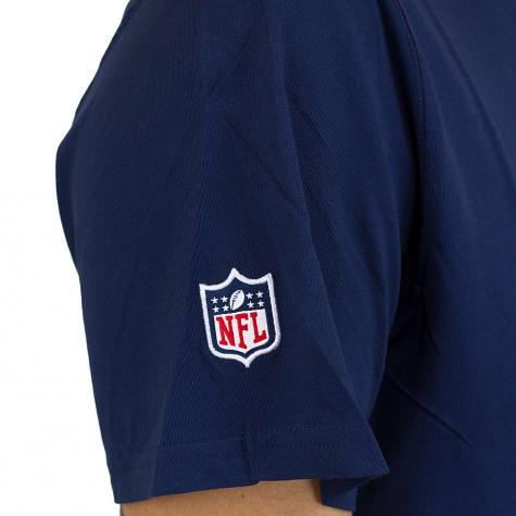 New Era T-Shirt Team Logo Seattle Seahawks dunkelblau