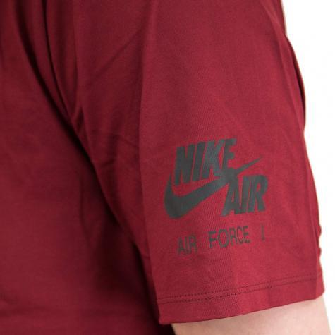 Nike T-Shirt rot/schwarz