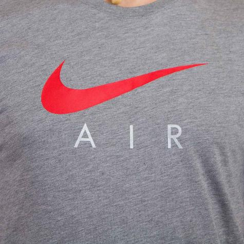 Nike T-Shirt Urban Classics Air Hybrid Totem carbon dunkelgrau meliert