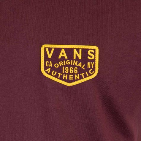 T-Shirt Vans OG Patch wine