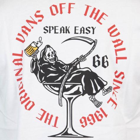 Vans Speak Easy T-Shirt Herren weiß